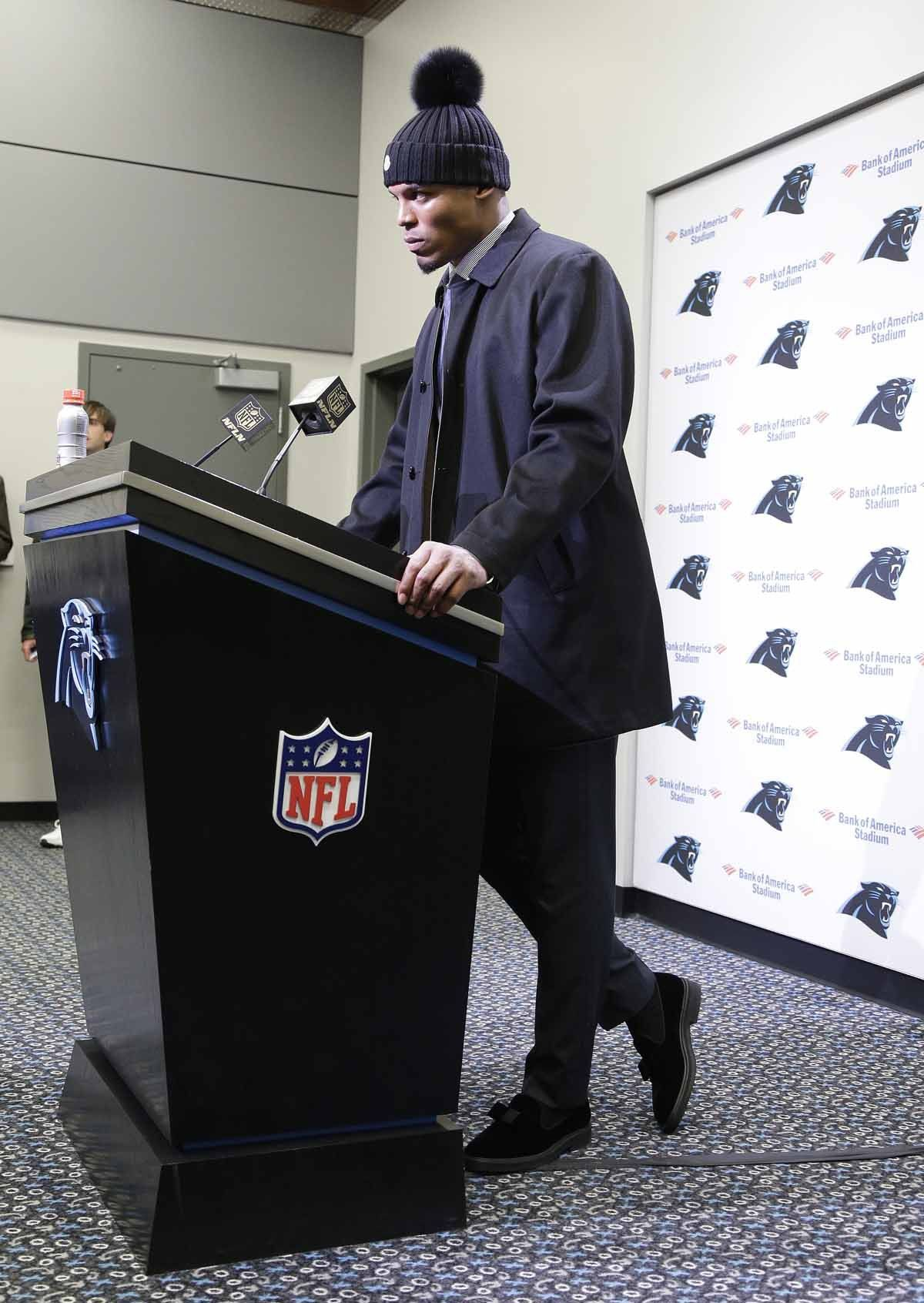 Cam Newton Also Strikes Gold With His Outerwear Hes Been Known To Sport A Classic Single Breasted Raincoat
