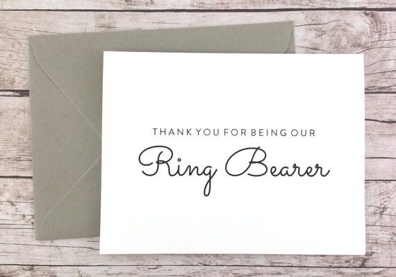 FPS0016 Wedding Card- Will You Be Our Ring Bearer Card Will You Be My Ring Bearer Card