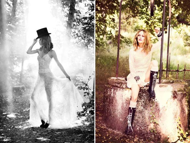 Vanessa Paradis Poses for Ellen von Unwerth in Chanel for Madame Figaro c1c17d37e91e