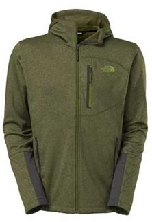43beb164d The North Face Canyonlands Hoodie for Men in Scallion Green Heather ...