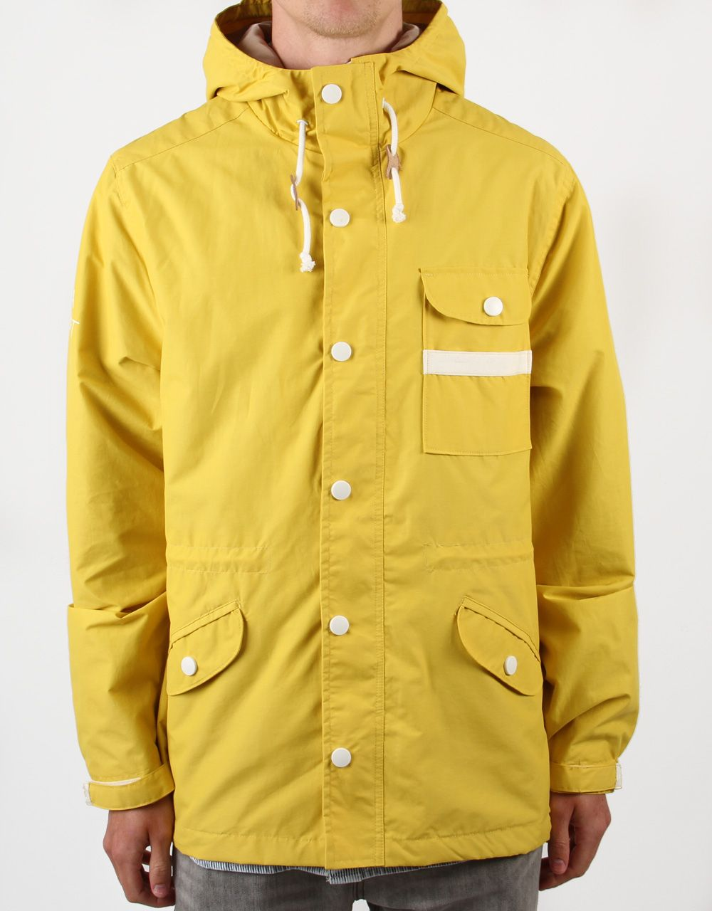 Altamont Windthrow Parka Jacket - Yellow available from route one ...