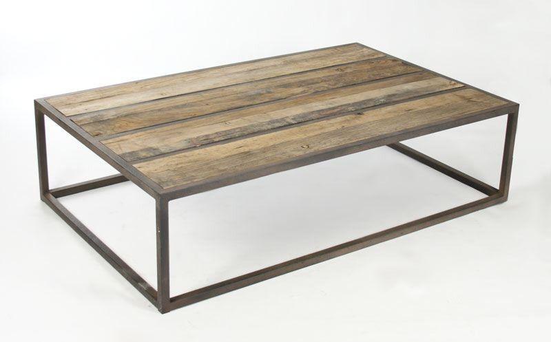 Liesbeth Coffee Table By Zentique Iron Coffee Table Oak Coffee