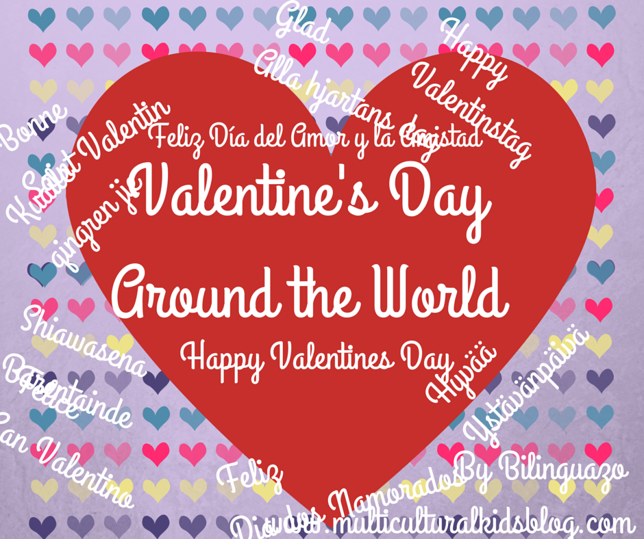 Valentine\'s Day Around the World | Craft, Craft activities and Easter