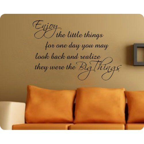 wall quotes would love this in my house :) dining room or living