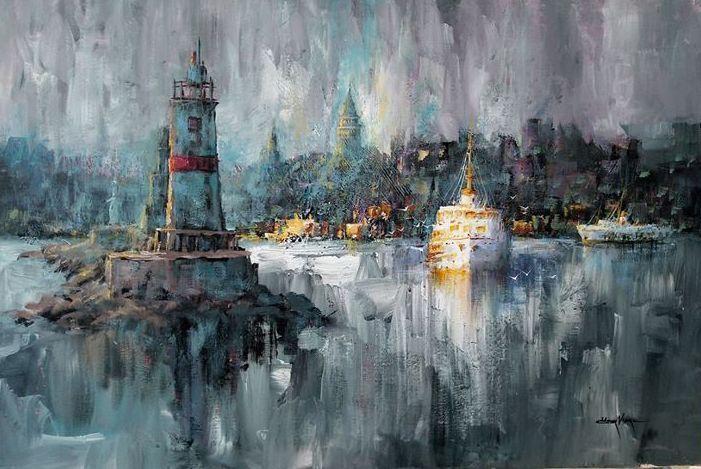 Istanbul 4 By Omer Vardar 90x60cm Fiyat Icin Dm Send Us Dm For