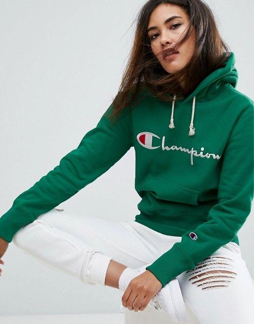 Champion Oversized Boyfriend Hoodie With Script Logo | Fashion online,  Fashion and Champion