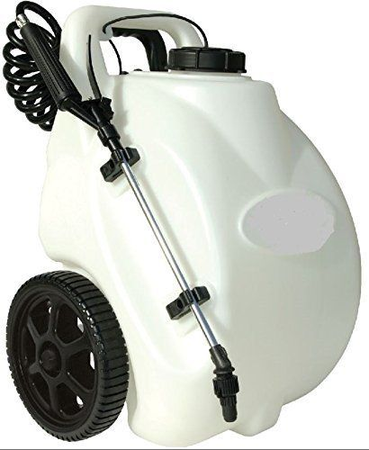 Garden Sprayer On Wheels Battery Operated Pump Home Lawn Https Www Amazon Com Dp B01fzjr04o Ref Cm Sw R Pi Dp X Jqp7ybwp6 Lawn Fertilizer Sprayers Gallon