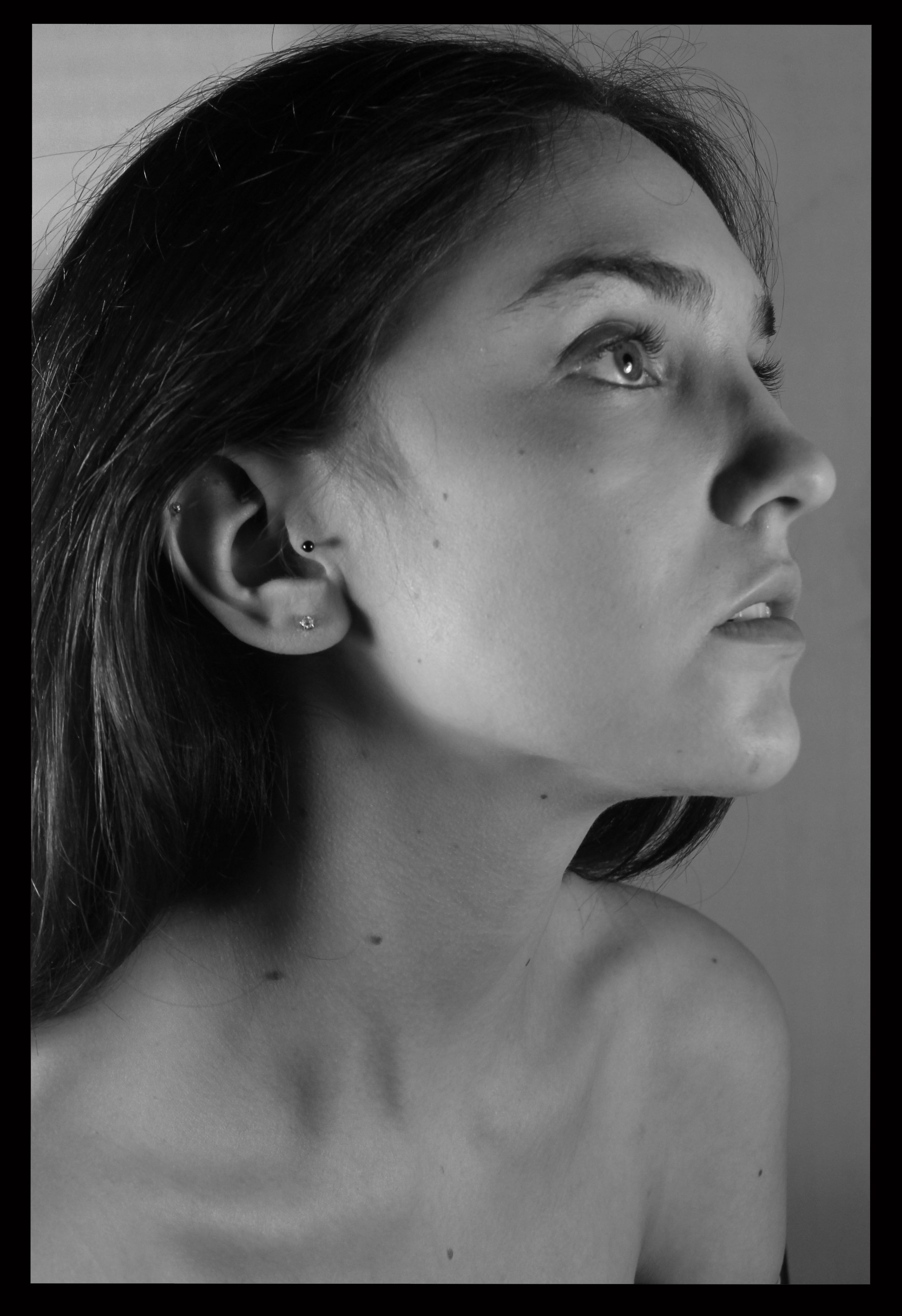 Side profiles Monochrome