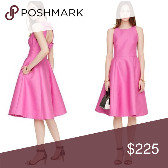 Kate Spade Double Bow Back Dress The perfect dress for wedding season. New with Tags. kate spade Dresses Midi