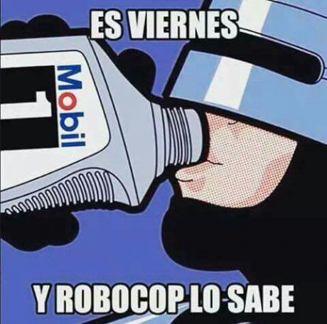 It's Friday and robocop know it http://bit.ly/2iTdUWf #love #follow #photooftheday http://bit.ly/2iOU4sz