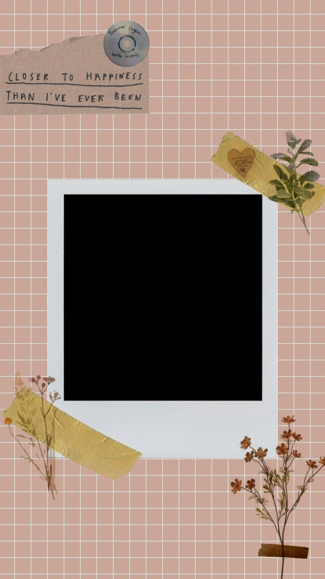 Moldura Para Inatagram Poster Bunga Bingkai Foto Perencanaan
