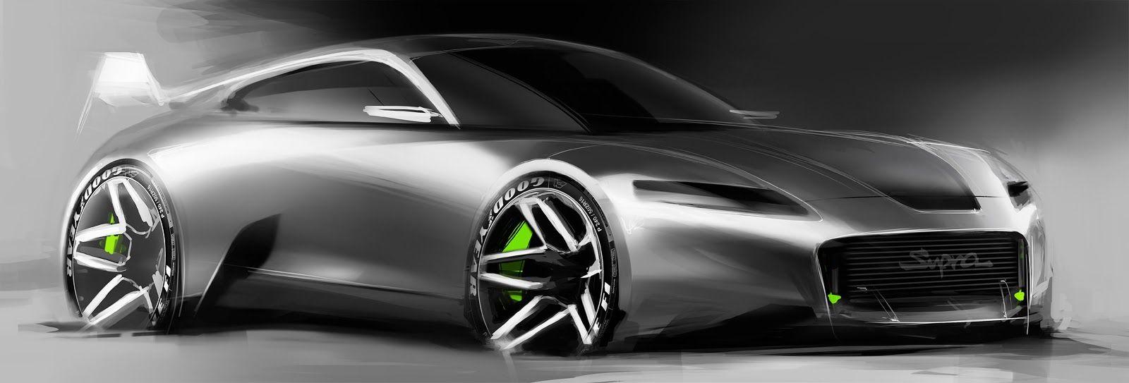Toyota Supra new generation random sketch