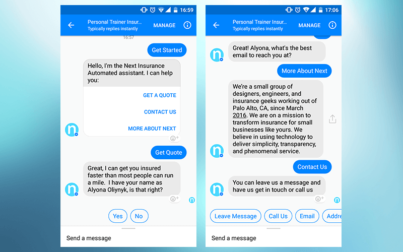 Insurance Chatbot Google Search Chatbot Got Quotes Best Email