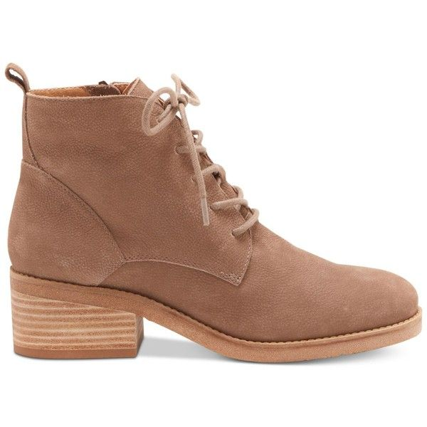 Lucky Brand Tamela Lace Up Bootie (Women's) P0Q4I9