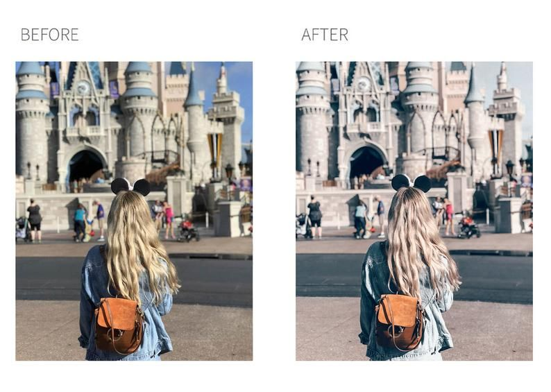 5 Mobile Lightroom Presets TRUFFLE, Blogger Photo Filter