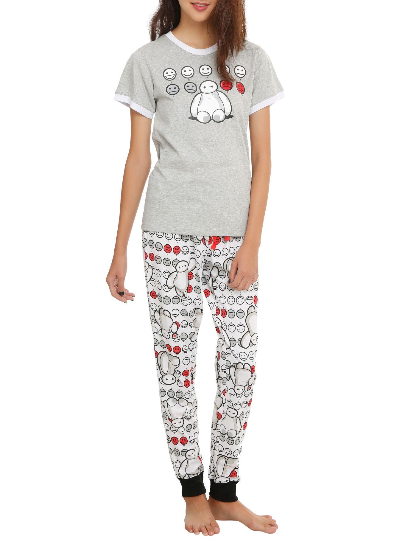 6568001b49c4 Disney Big Hero 6 Baymax Grey Sleep Set