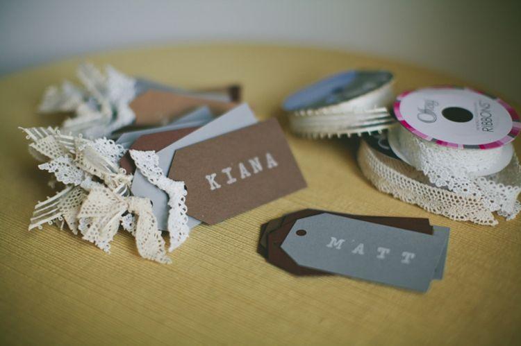 pretty, fun & EASY #DIY place cards | crafty | Pinterest | Diy ...