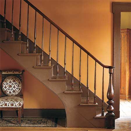 Chivalry Copper Behr Paint Orange Rooms Orange Walls House Colors