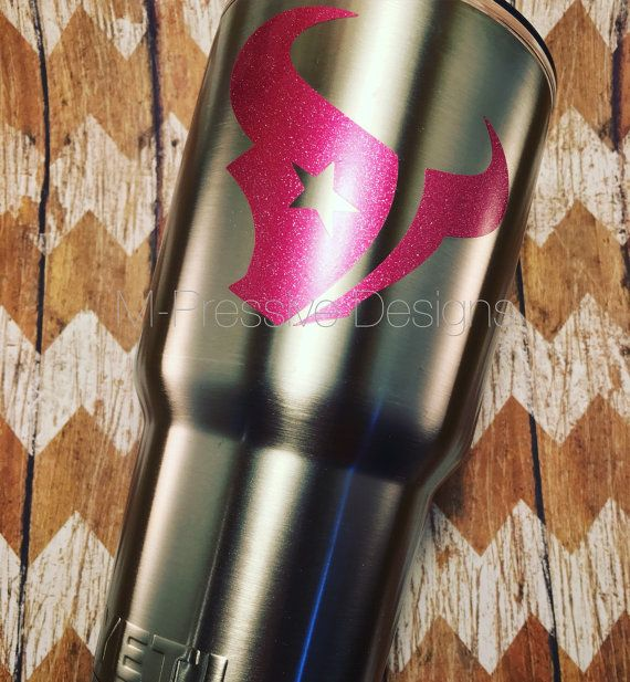 Houston Texans Inspired Decal by MPressiveDesigns4U on Etsy