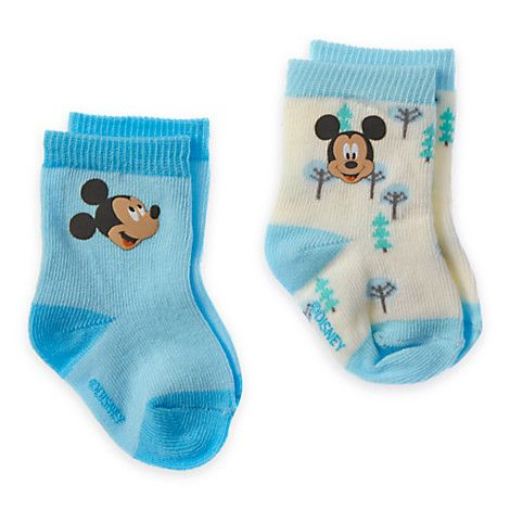 Mickey Mouse Sock Set For Baby Disney Store Disney Baby