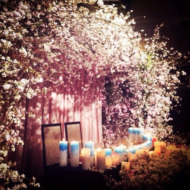 安田美沙子さんWedding decoration | オートクチュールデザイン | TAKE and GIVE NEEDS