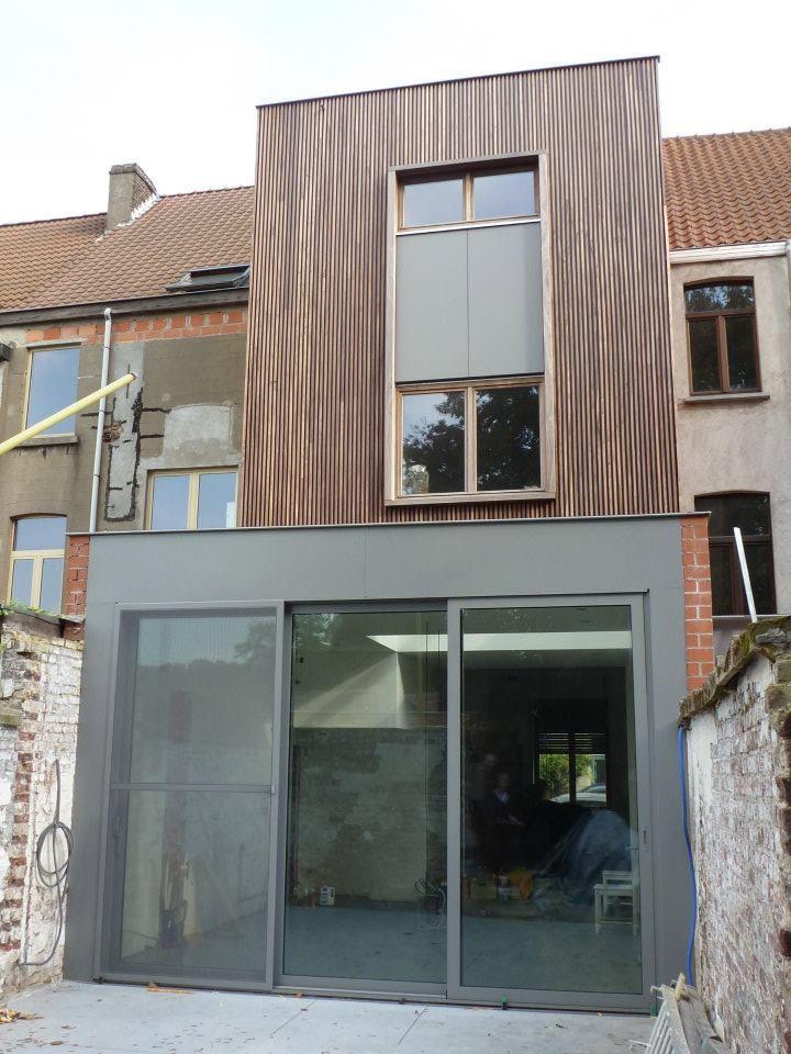 Smal huis renovatie google zoeken huis pinterest extensions house and exterior - Huis renovatie ...