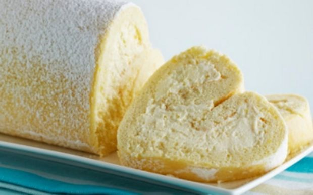 Tart Lemon Roulade Recipe Cakes Lemon Roulade Lemon