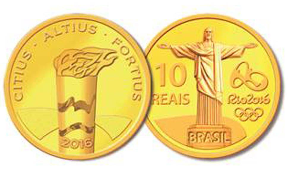 Moedas Comemorativas Da Olimpiada No Rio Moedas Comemorativas
