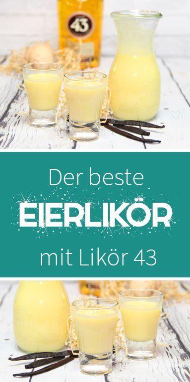 Eierlikör mit 43er – Ein Traum - dieHexenküche.de | Thermomix Rezepte