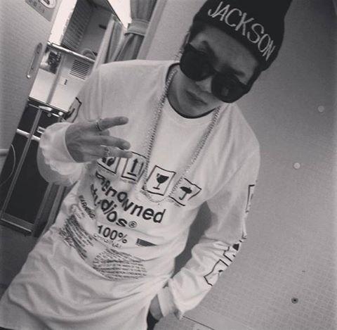 """[Actualización Instagram de Jackson]  #jacksonwang852jy: """"Tú sabes que es esto @rnwnd"""""""