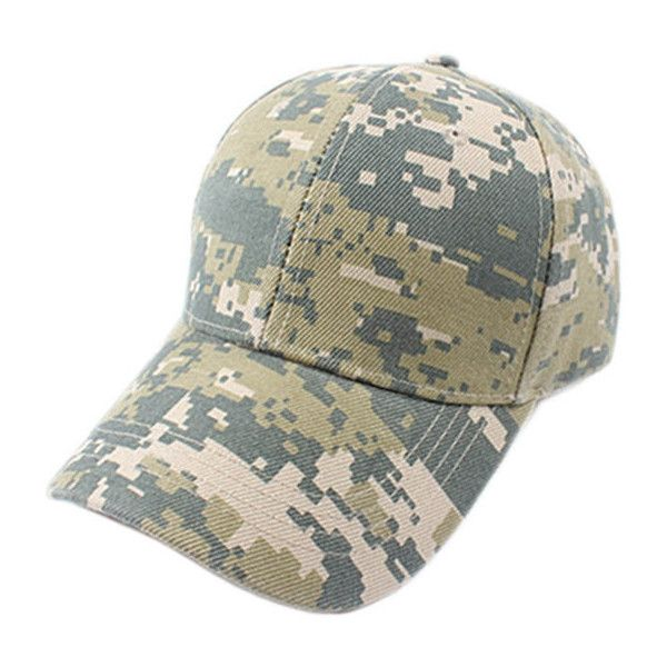 392d558122774 Men Women Adjustable Military Hunting Fishing Hat Army Baseball Outdoor Cap  Camo Bucket Hat