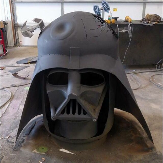 Darth Vader Fire Pit Welding Projects Welding Fire Pit