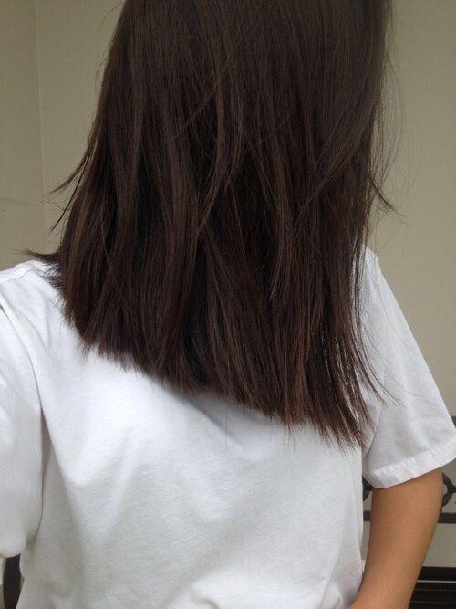 Medium Length Hair With Layers Brown Love This Cut