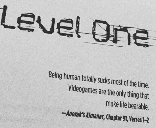 Ready Player One. #quote #ernestcline