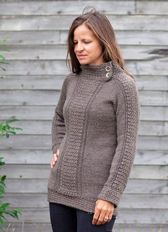 Sweater knitting pattern / Seamless knit sweater pattern ...