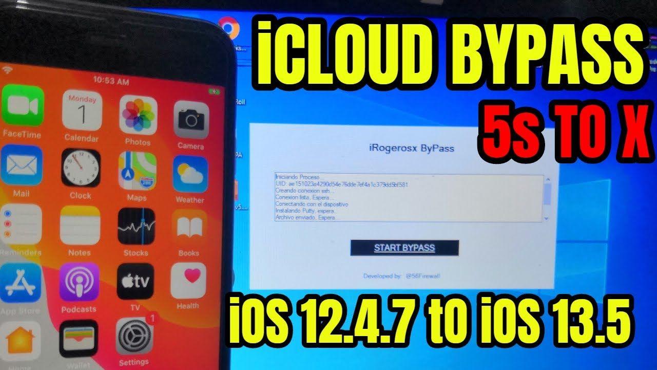 Bypass icloud ios 1247 ios 135 window method in 2020