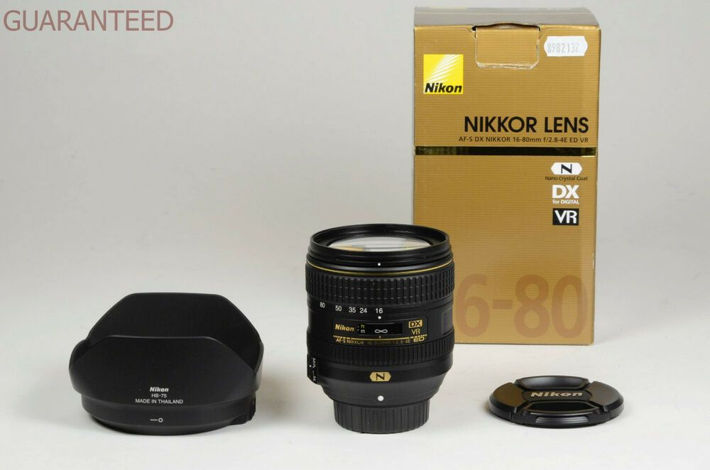 Nikon Lens 16 80 Mm F 2 8 4 E Ed Vr Garanzia Tuttofoto Com Nikon Lens Lens Nikon