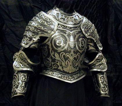 detalle de armadura.