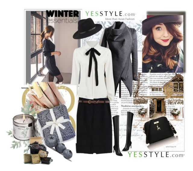 """""""YESSTYLE CONTEST """" WINTER FASHION"""""""" by ramiza-rotic ❤ liked on Polyvore featuring Hyoty, JY Shoes, rag & bone, Rabbit Bag, women's clothing, women's fashion, women, female, woman and misses"""