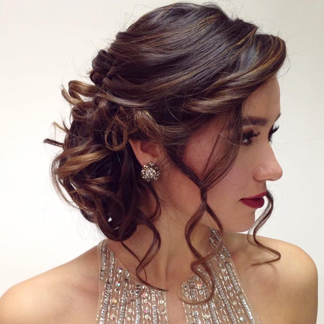 25 Amazing Quinceanera Hairstyles Prom Hairstyles For Short Hair Quince Hairstyles Formal Hairstyles For Short Hair
