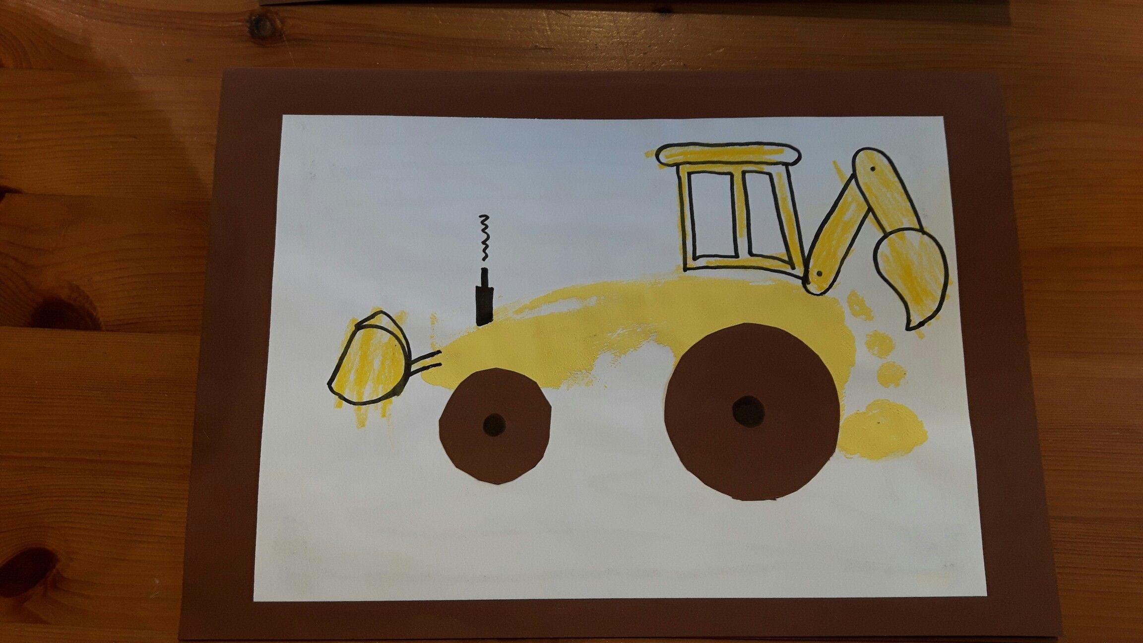 Einladung Kindergeburtstag Baustelle