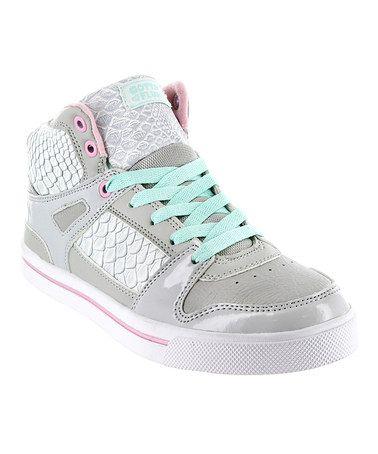 Love this Gray Hip-Hop II Hi-Top Sneaker - Women on #zulily! #zulilyfinds