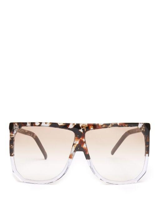 92581aba7cb LOEWE Filipa D-frame acetate sunglasses.  loewe  sunglasses