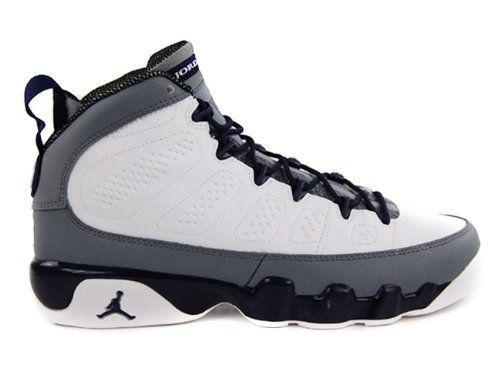 f882e044153 NIKE GIRLS AIR JORDAN 9 RETRO (GS) 537736 109 WHITE/IMPERIAL PURPLE-CL GREY  BASKETBALL SHOES | Shoes Deliver