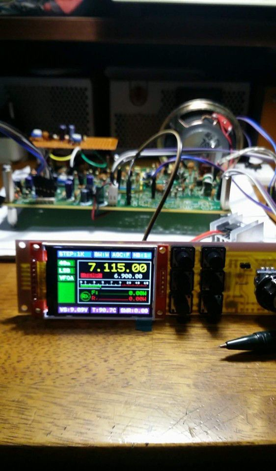 RTC02B Radio Transceiver Controller with onboard Si5351