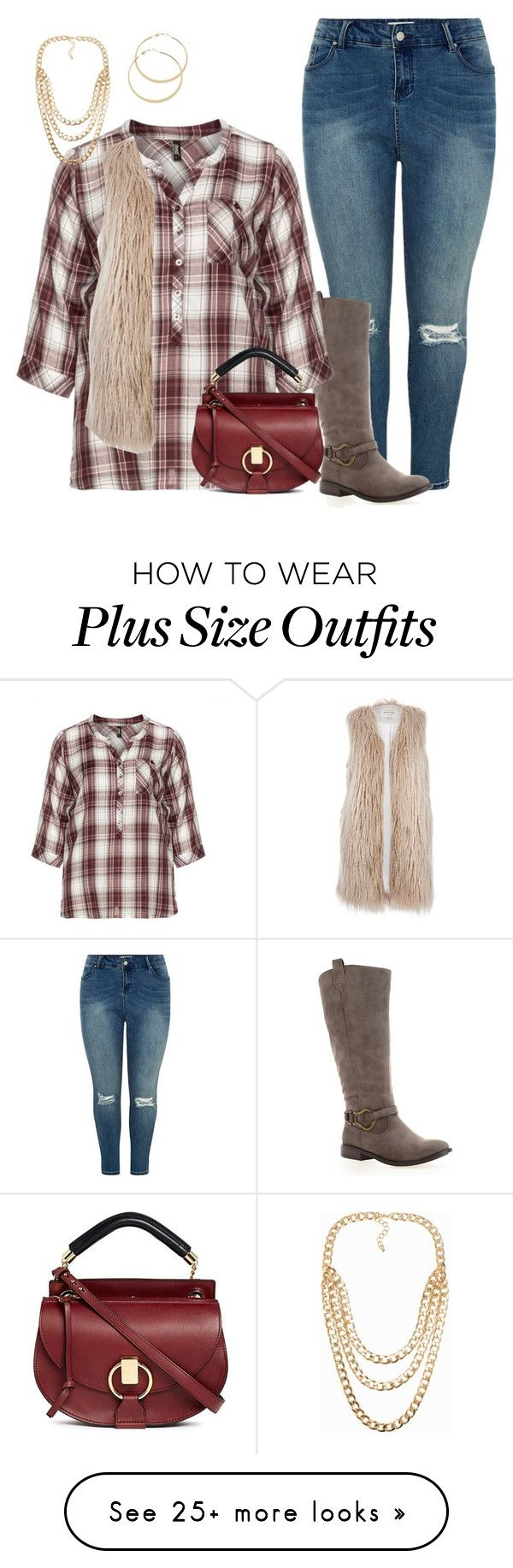 """plus size hoilday shopping"" by kristie-payne on Polyvore featuring Avenue, Zhenzi, River Island, Chloé, AX Paris and NLY Accessories"