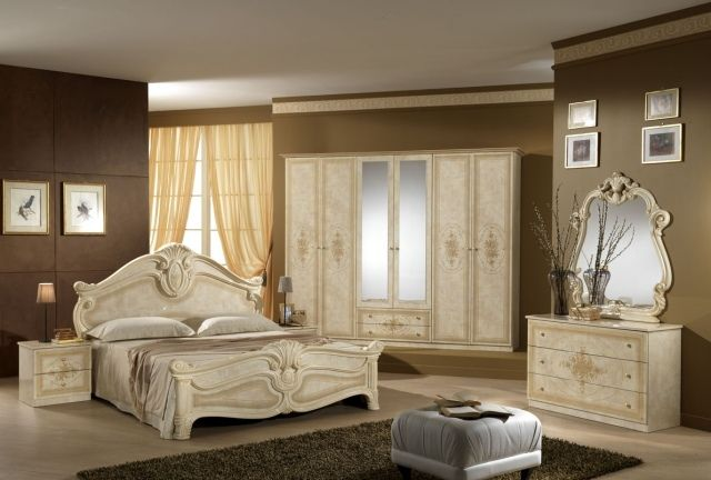 Chambre baroque - déco baroque dans la chambre à coucher Wall