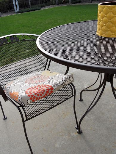 Refurbishing Wrought Iron Furniture With Images Wrought