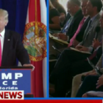 During a press conference in Florida, GOP nominee Donald Trump was having no part of mainstream media reporters looking to stick up for Hillary Clinton.