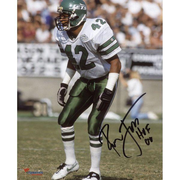 e83eae5c689 Ronnie Lott New York Jets Fanatics Authentic Autographed 8